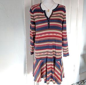Lauren Ralph Lauren 1X Southwestern Thermal Dress